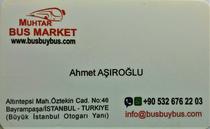Tirdzniecības laukums Muhtar Bus Market Turkiye