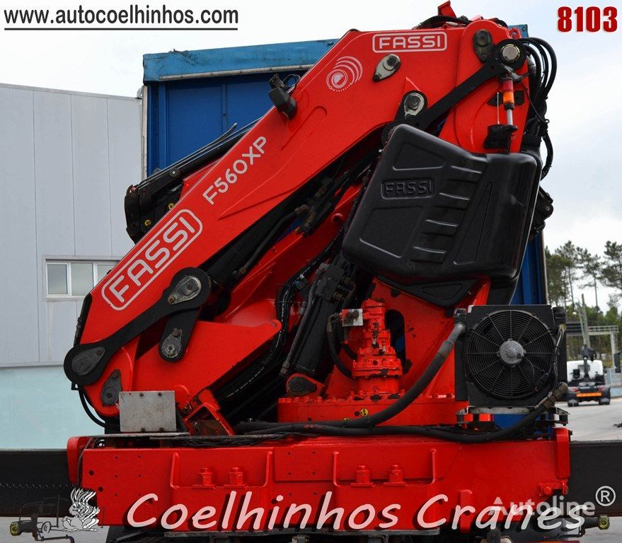 FASSI F560 XP celtnis-manipulators