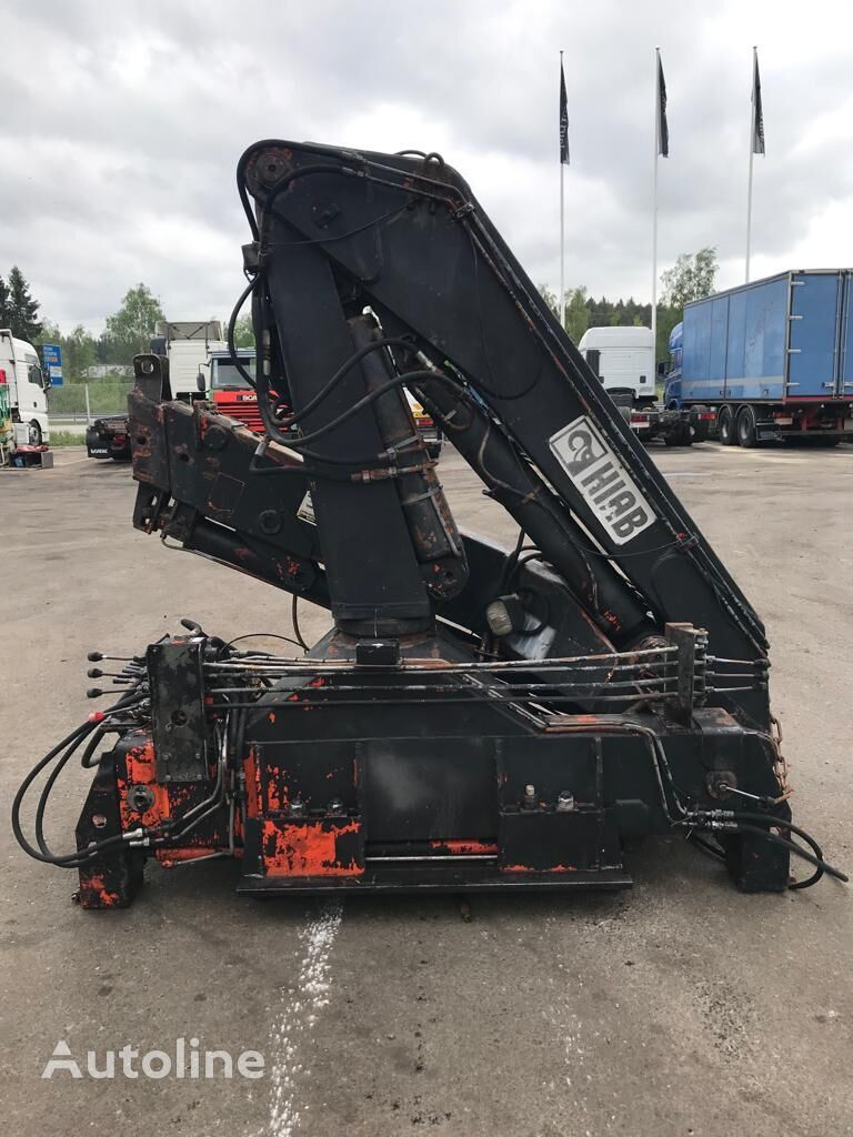 HIAB 2070 aw with Jib celtnis-manipulators