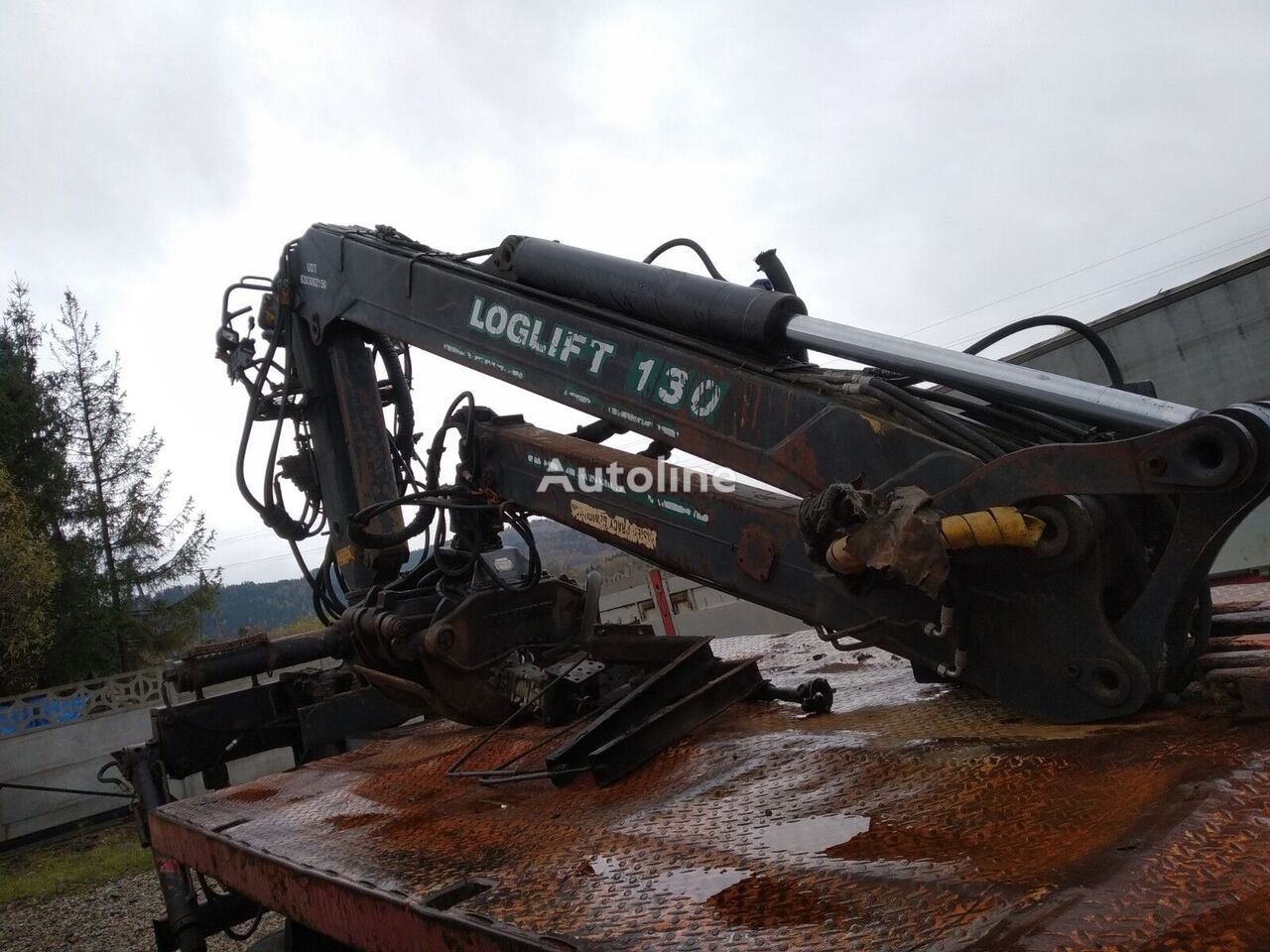 LOGLIFT E 130 s celtnis-manipulators