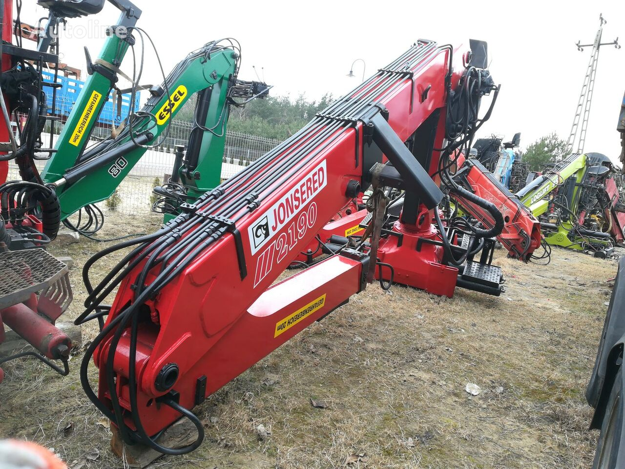 LOGLIFT JONSERED 2190 do drewna celtnis-manipulators