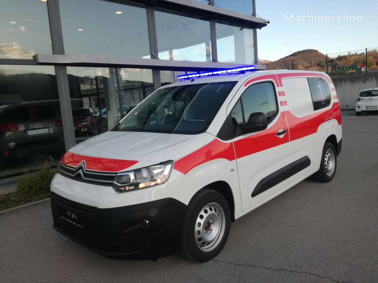 jauns CITROEN Berlingo XL mikroautobuss ātrās palīdzības mašīna