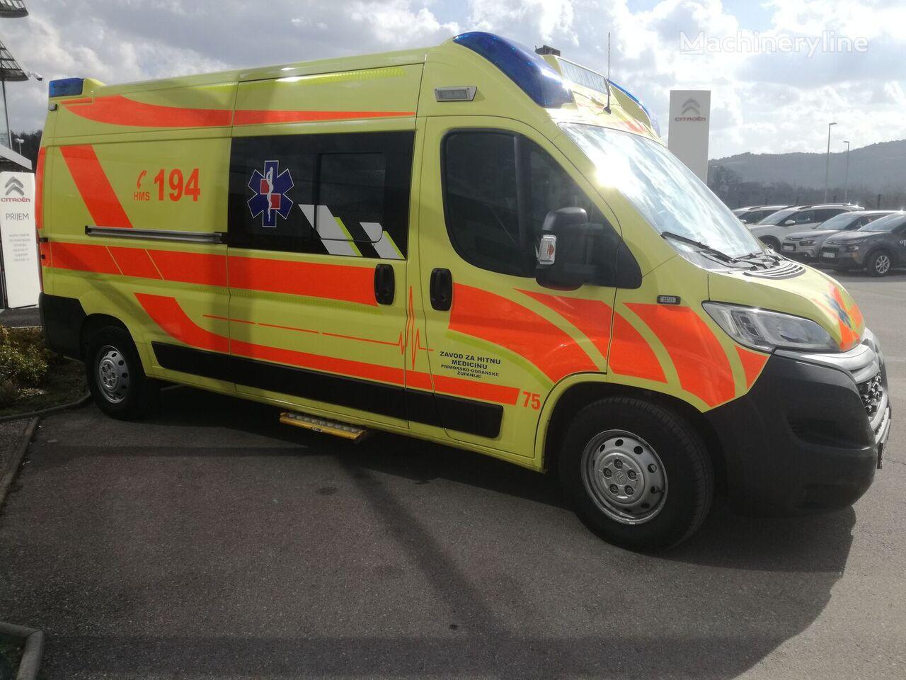 jauns CITROEN Jumper L3H2 mikroautobuss ātrās palīdzības mašīna