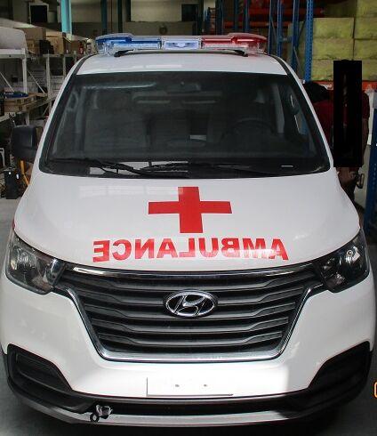jauns HYUNDAI H1 Petrol mikroautobuss ātrās palīdzības mašīna