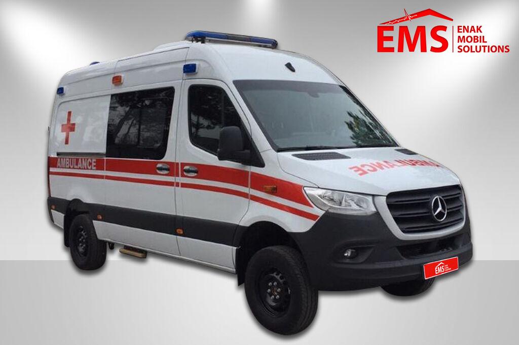 jauns MERCEDES-BENZ 4 X 4 SPRINTER 316 AMBULANCE mikroautobuss ātrās palīdzības mašīna