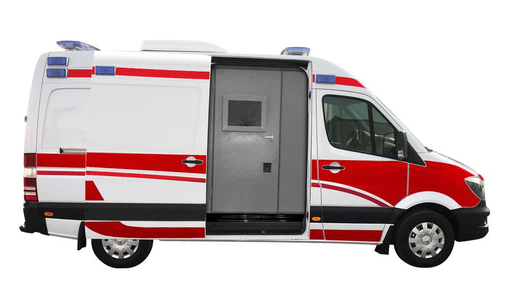 jauns MERCEDES-BENZ ARMOURED B6 BULLET-PROOF 316 4x2 AMBULANCE TYPE B WITH EN1789+A2 mikroautobuss ātrās palīdzības mašīna