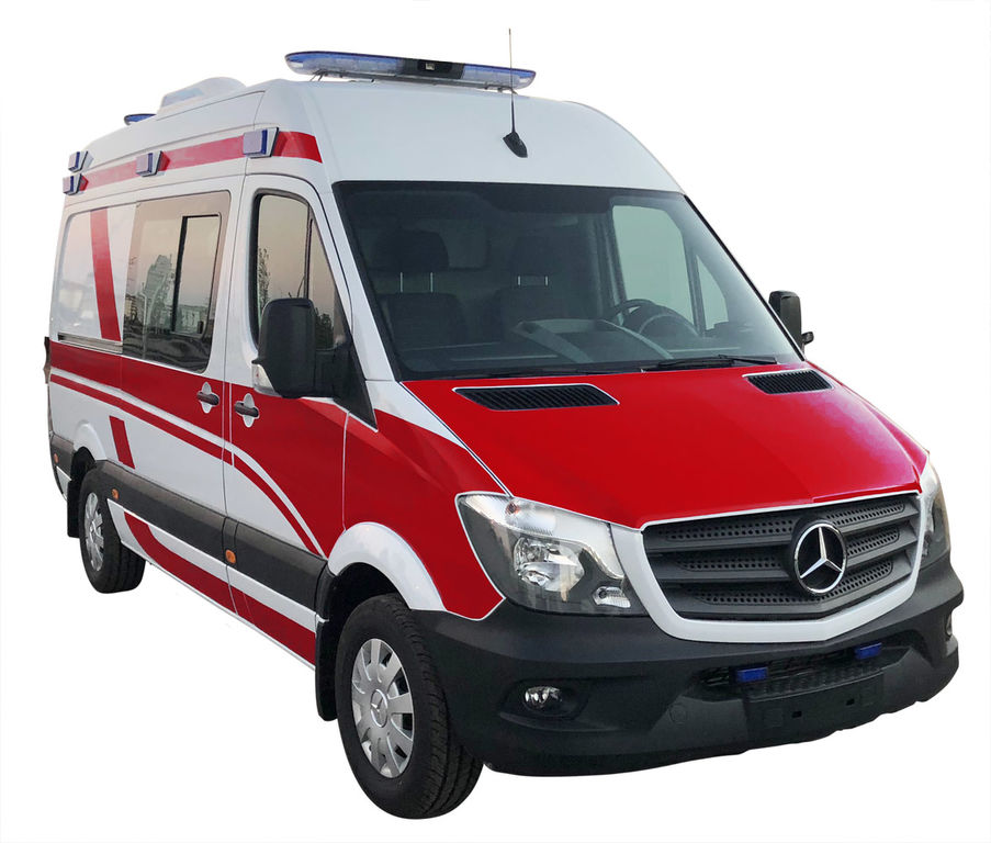 jauns MERCEDES-BENZ SPRINTER 316 KTW - A TYPE AMBULANCE WITH EN1789+A2 CERTIFICATE mikroautobuss ātrās palīdzības mašīna