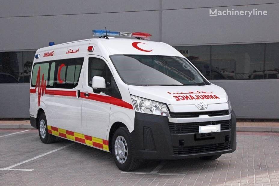 jauns TOYOTA Hi Ace Petrol new generation  mikroautobuss ātrās palīdzības mašīna