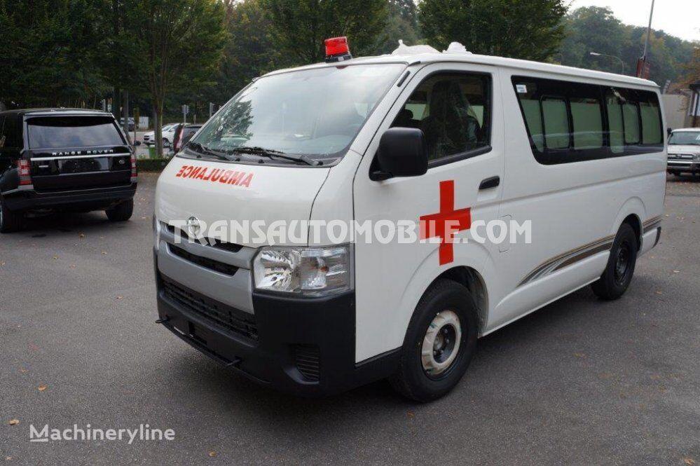 jauns TOYOTA Hiace mikroautobuss ātrās palīdzības mašīna