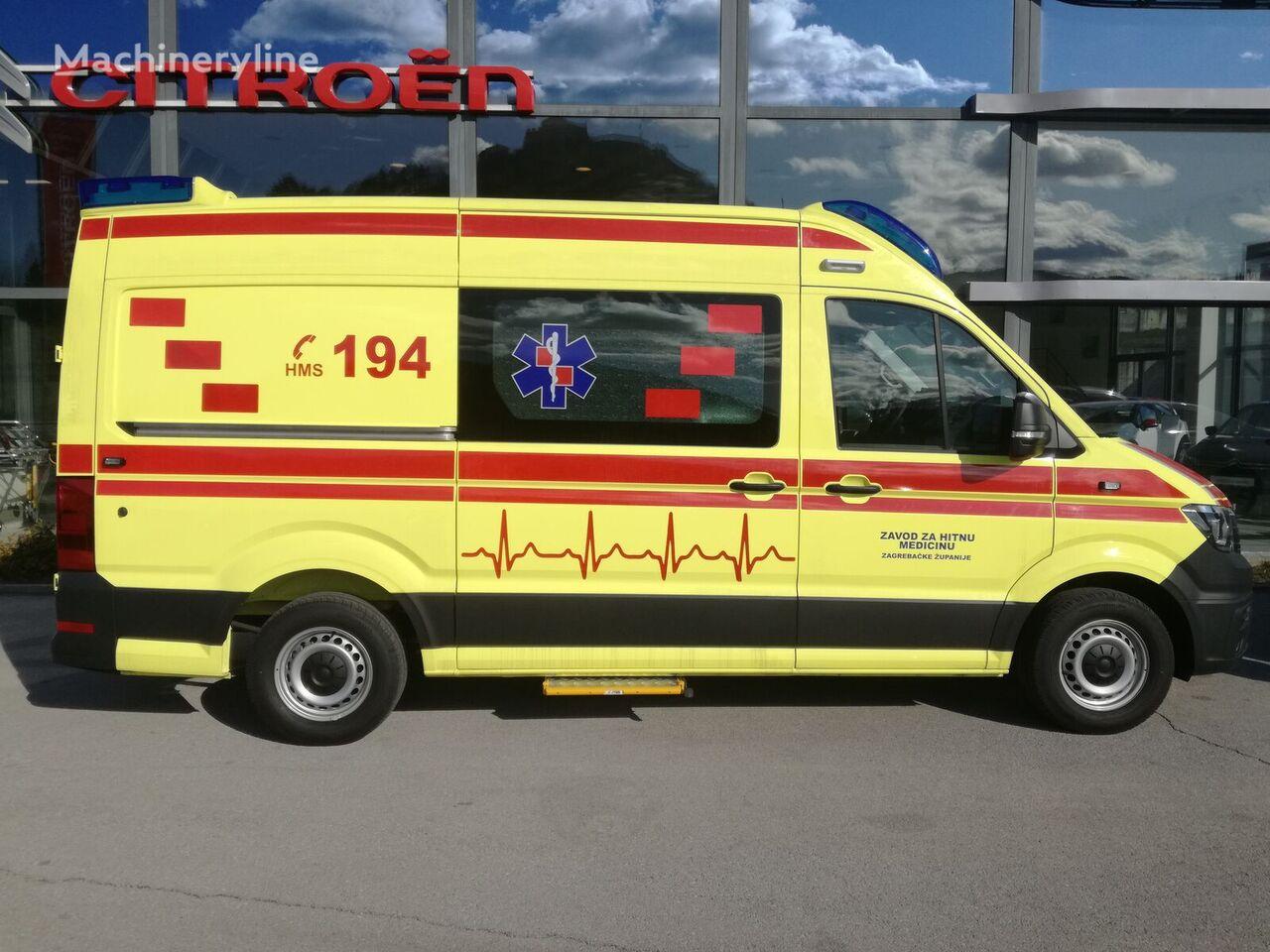 jauns VOLKSWAGEN Crafter L3H2 mikroautobuss ātrās palīdzības mašīna
