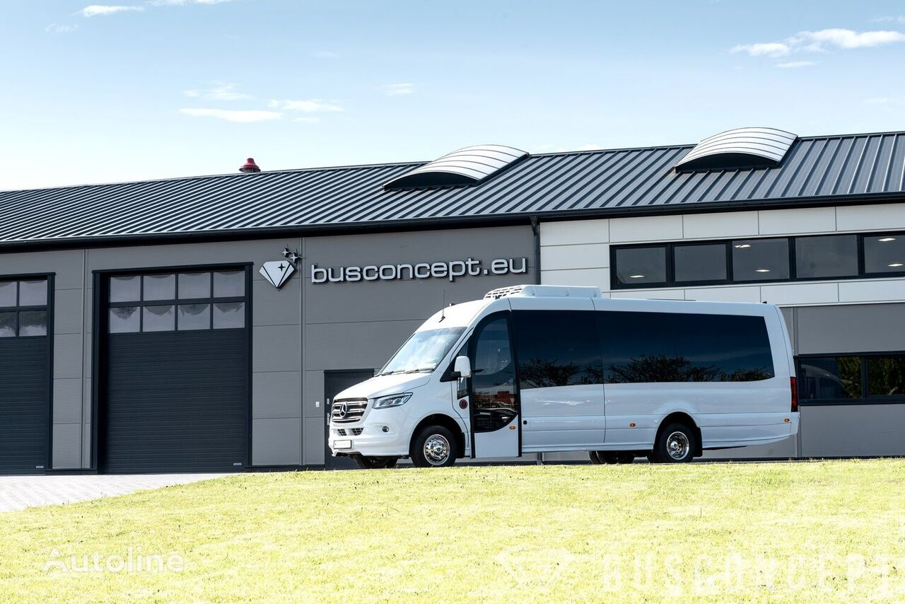 jauns MERCEDES-BENZ Sprinter 516 8 m BIG BOOT 16 +1 Right Hand Drive, ON STOCK mikroautobuss pasažieru