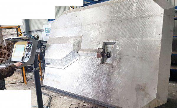 Progress EBA S 12 aprīkojums betona bloku ražošanai