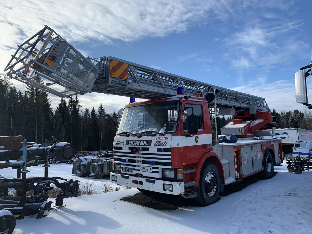 SCANIA P92 4x2 only 46000 km, 30 m working hight autotornis