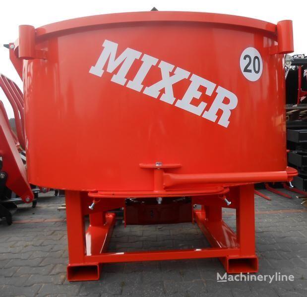 jauns Agro- Factory MIXER Traktor-Betonmischer/ Betoniarka ciągnikowa  betona maisītājs