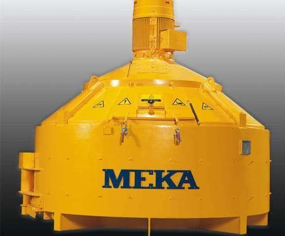 jauns MEKA betona rūpnīca