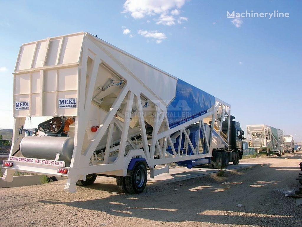 jauns MEKA Mobilnyy MB-M/BM betona rūpnīca