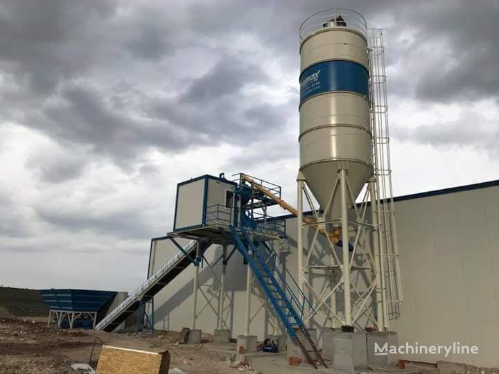jauns PROMAX Compact Concrete Batching Plant PROMAX C45 SNG(45m³/h) betona rūpnīca