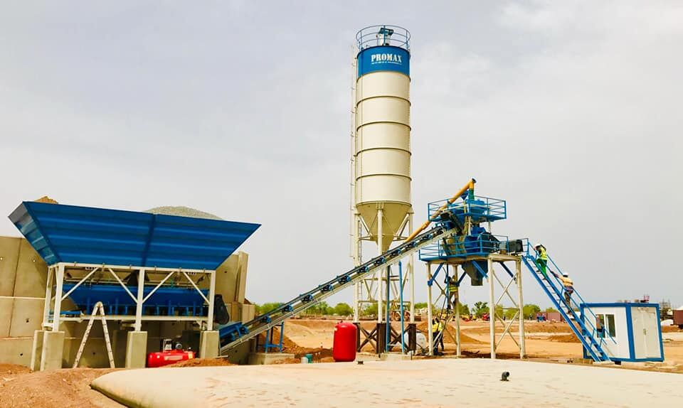 jauns PROMAX Compact Concrete Batching Plant PROMAX C60 SNG PLUS (60m³/h) betona rūpnīca