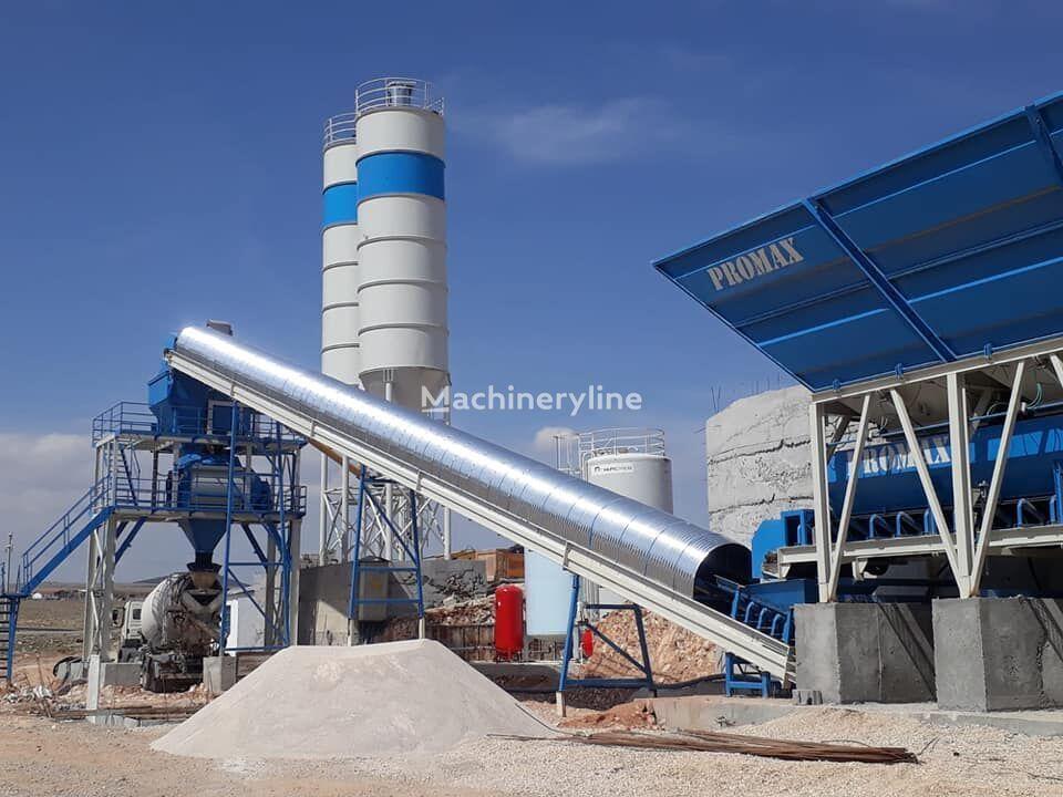 jauns PROMAX STATIONARY Concrete Batching Plant PROMAX S100 TWN(100m³/h) betona rūpnīca
