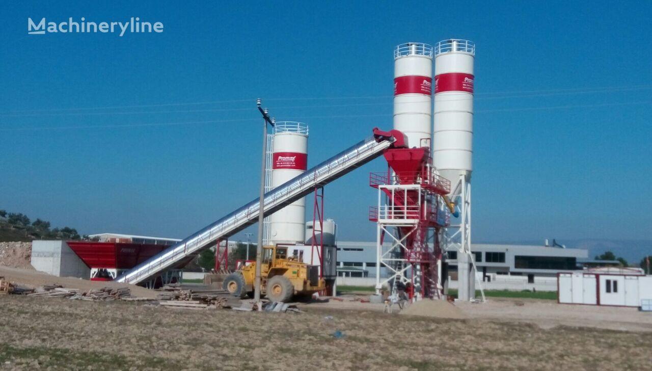 jauns PROMAX STATIONARY Concrete Batching Plant PROMAX S130 TWN(130m³/h betona rūpnīca
