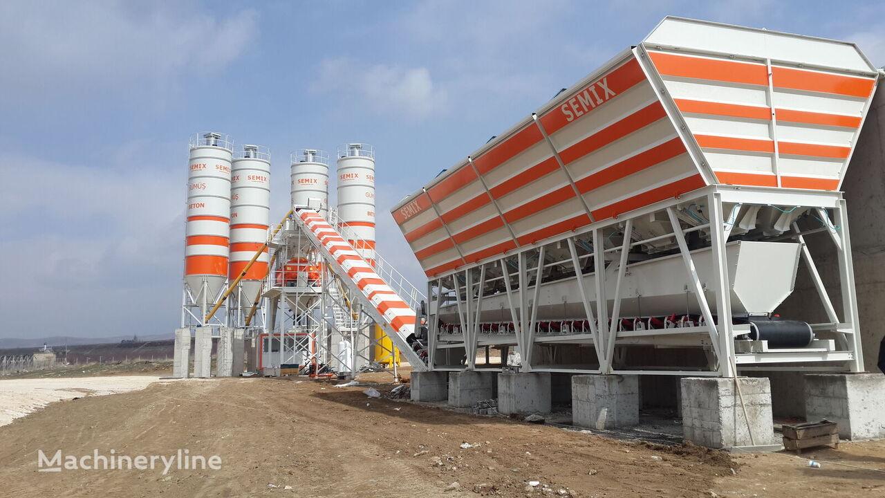 jauns SEMIX Stationary 130 betona rūpnīca