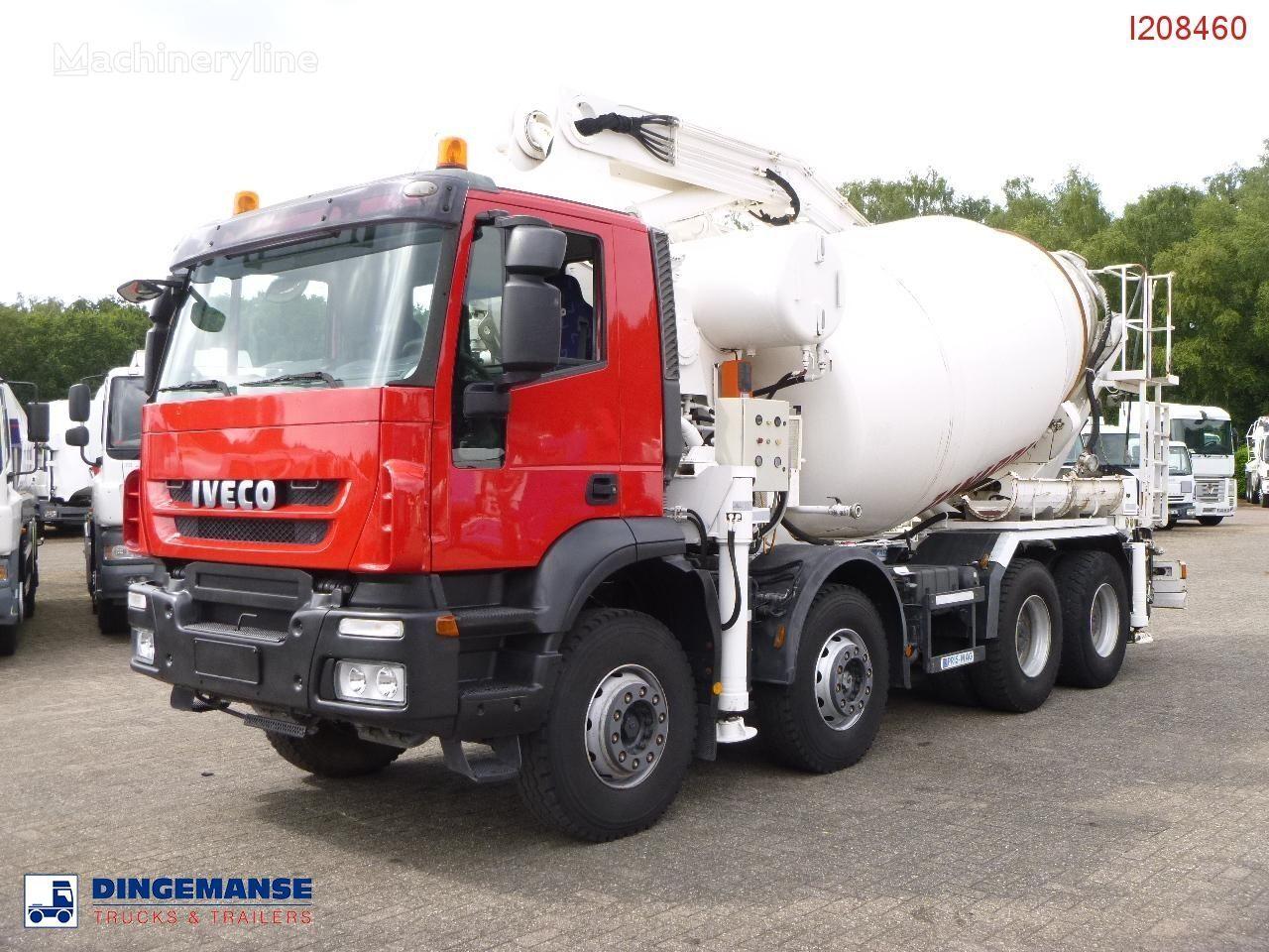 IVECO AD410T45 8x4 pump/mixer 28 m betona sūknis