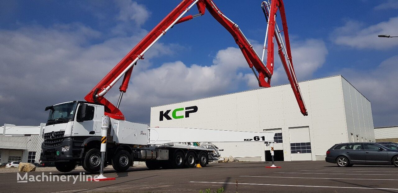 jauns KCP 61ZX6170 betona sūknis