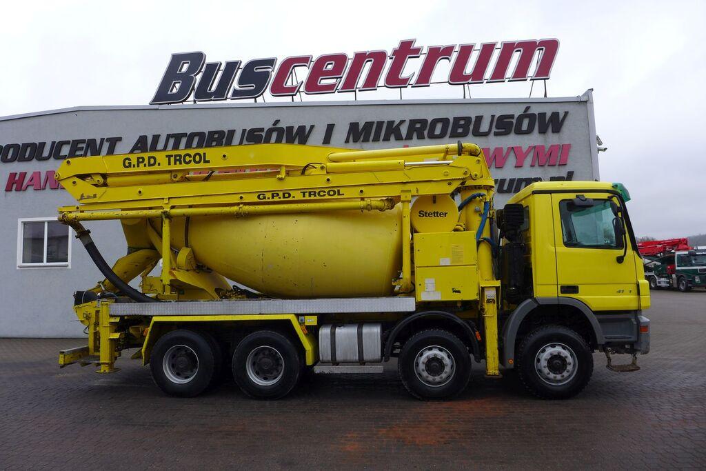 MERCEDES-BENZ Actros 4141 8x4 Schwing 24m / 125 mm betona sūknis