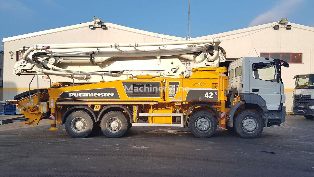 MERCEDES-BENZ  Axor 4140 8x4 - Putzmeister 42 Meter Ergonic betona sūknis