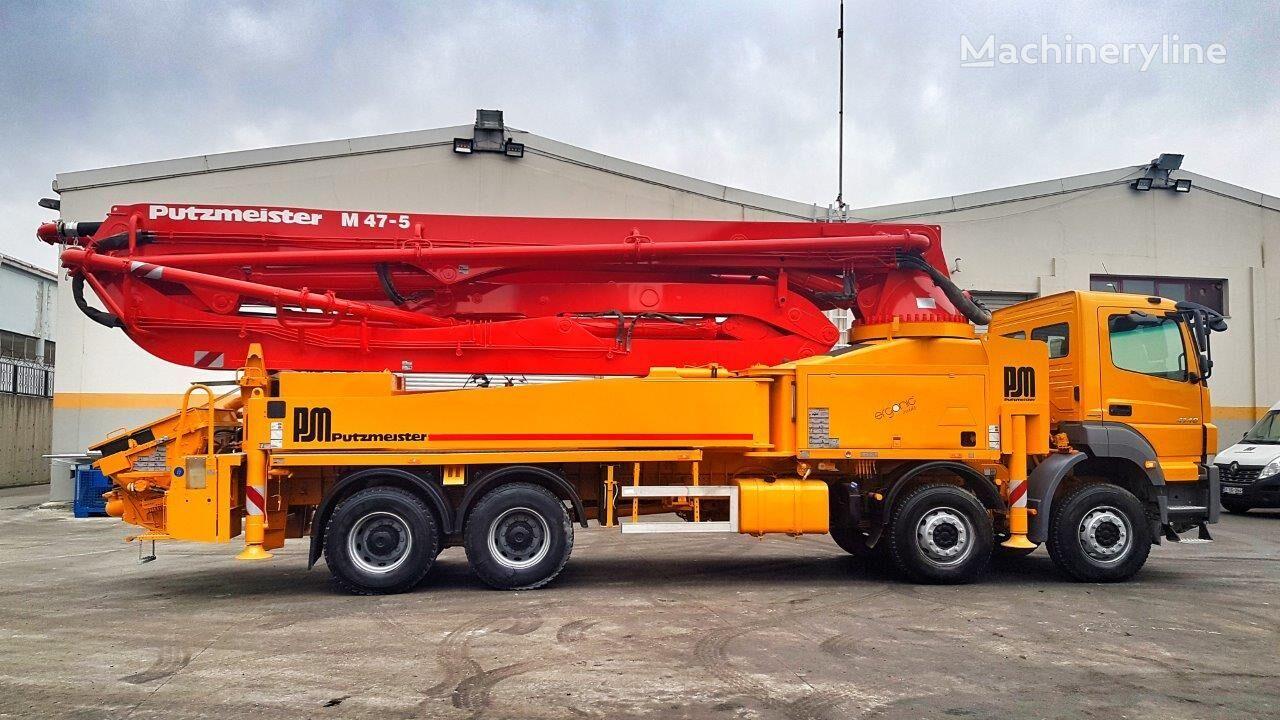 MERCEDES-BENZ Axor 4140 8x4 - Putzmeister 47 Meter Ergonic SPECIAL EDITION betona sūknis