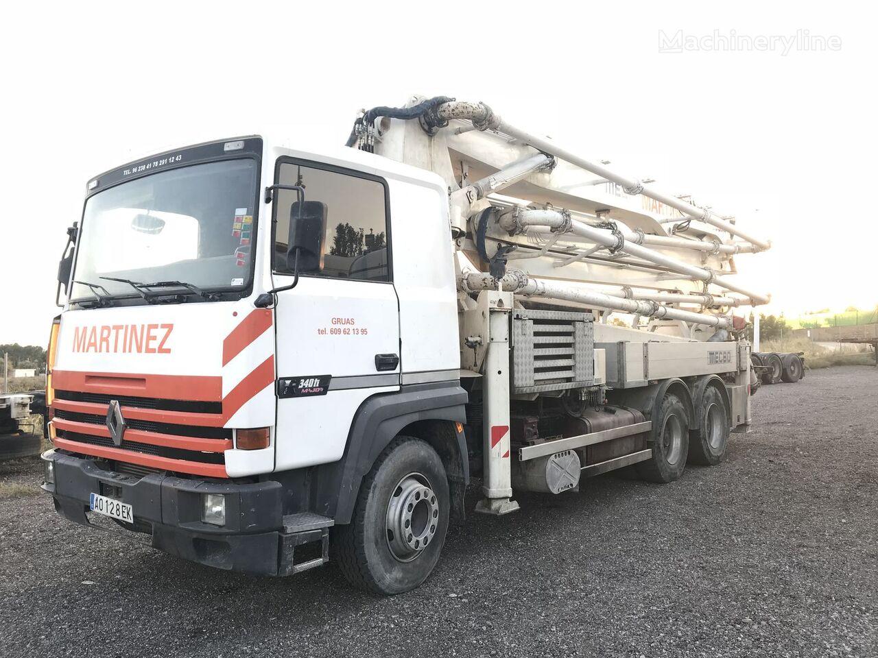 RENAULT MECBO 37m /R340 TI betona sūknis