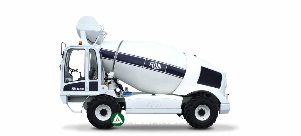 jauns FIORI DB X50 betonvedējs