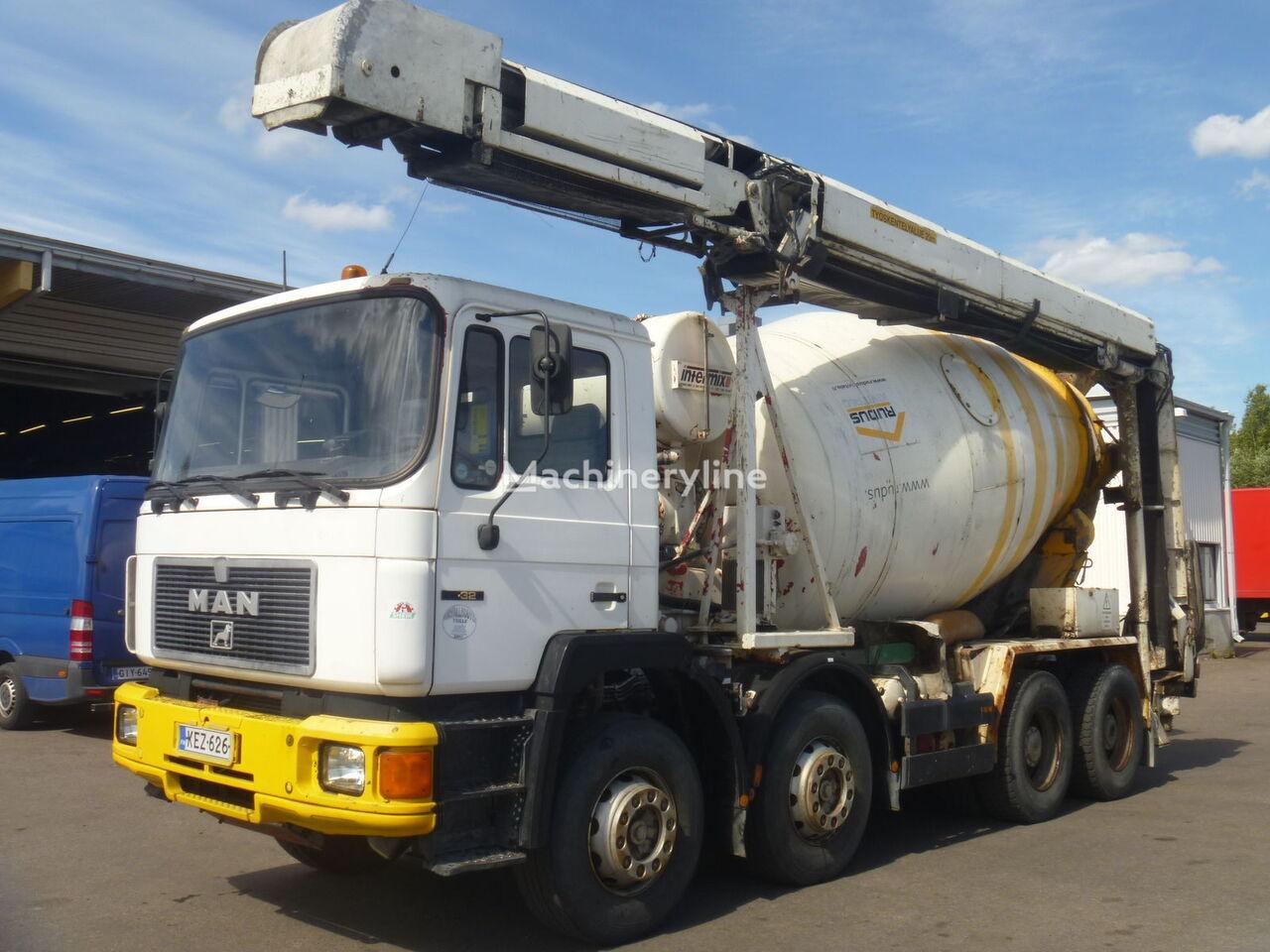 Intermix IM9Z uz šasijas MAN 32.322 betonvedējs