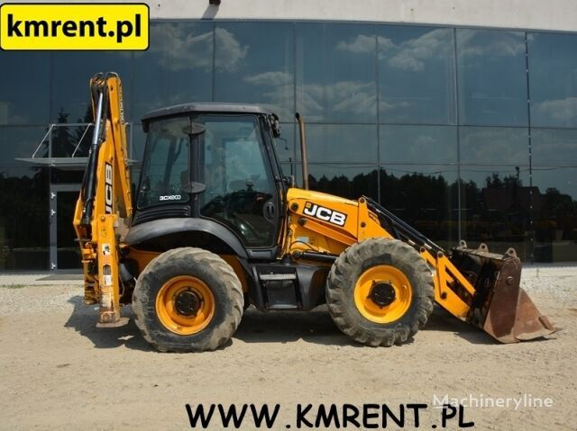 JCB 3CX SUPER|CAT 432 D 428 NEW HOLLAND LB110 TEREX 860 880 VOLVO BL ekskavators-iekrāvējs