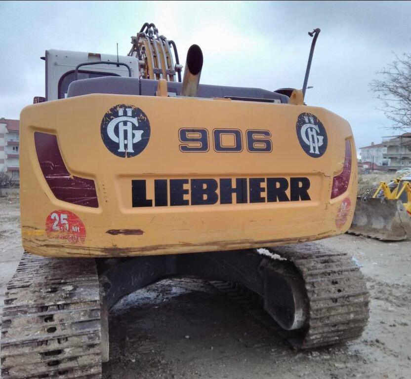 LIEBHERR R906 kāpurķēžu ekskavators