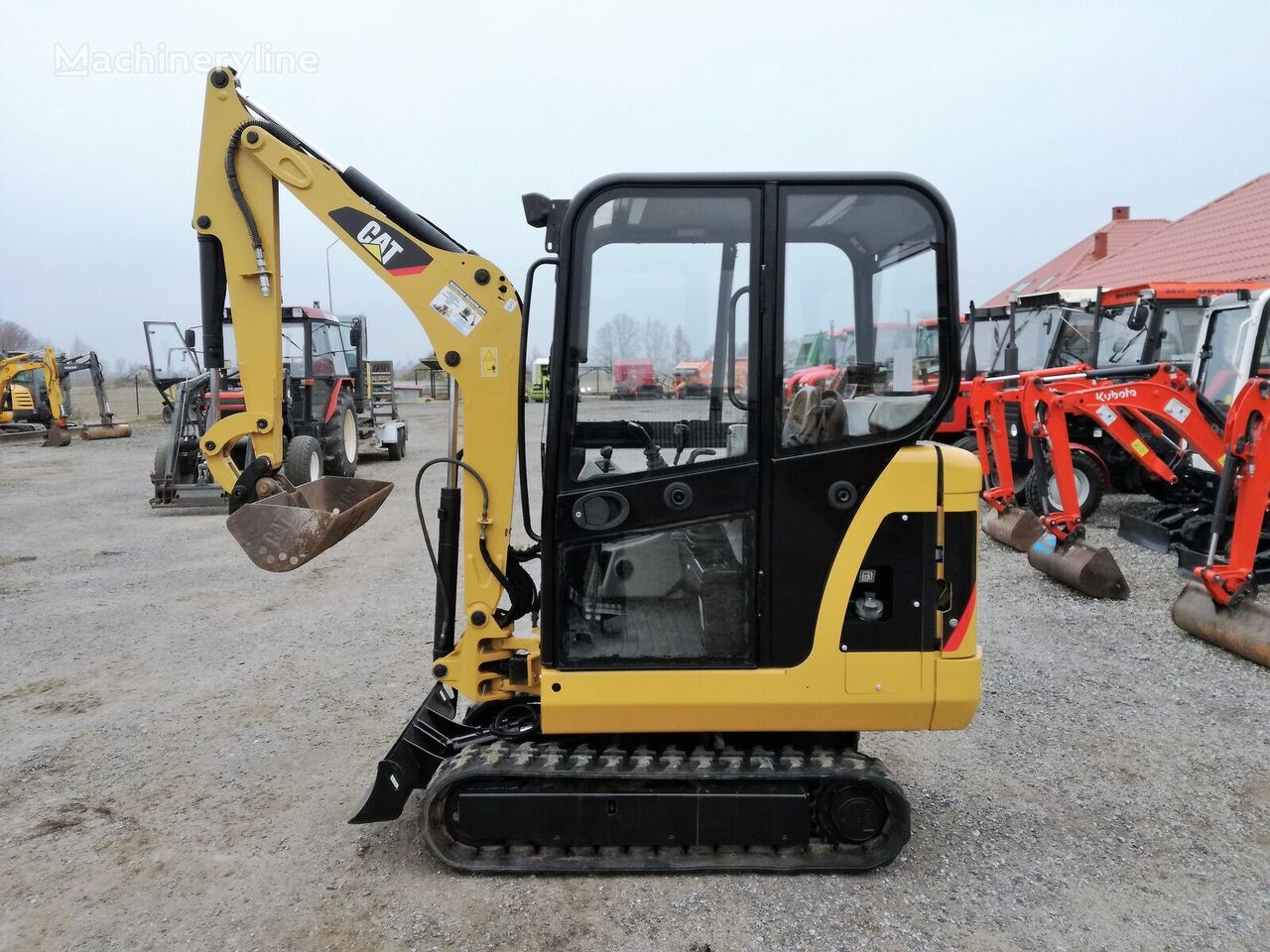 CATERPILLAR 301,6 C  mini ekskavators