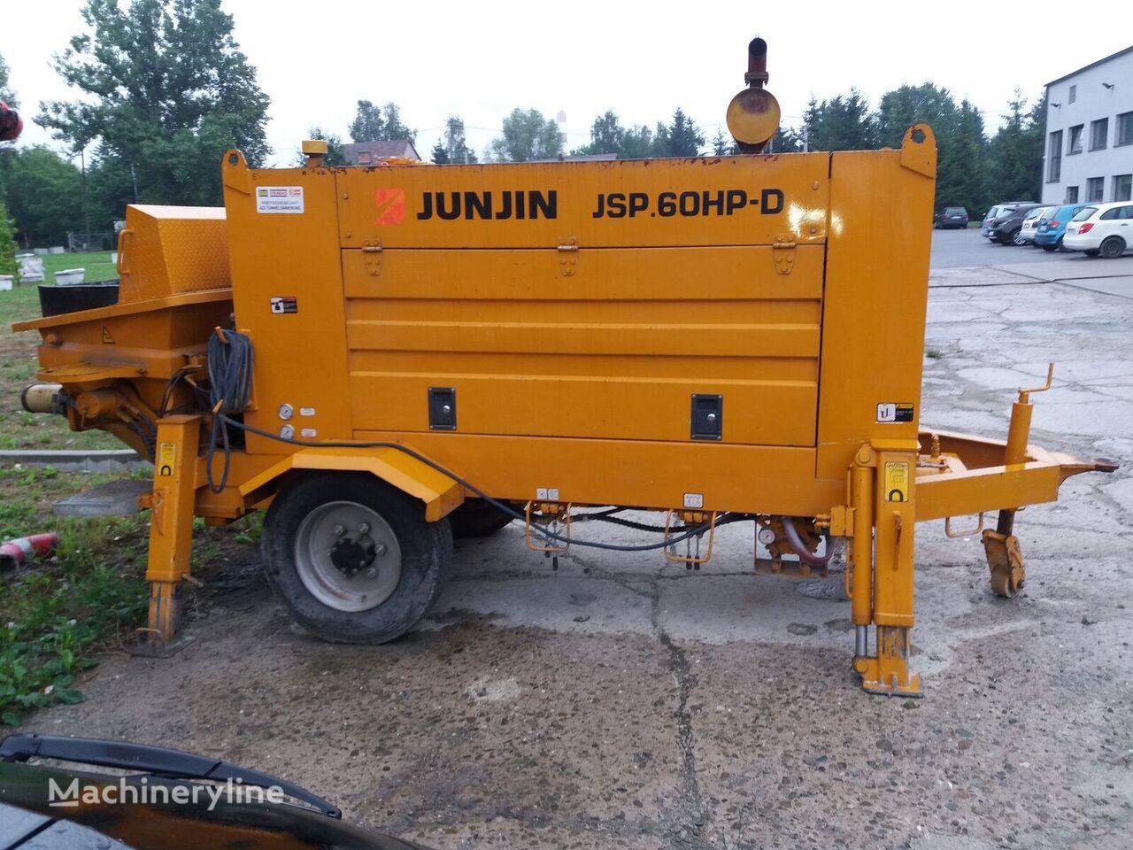 JUNJIN JSP.60HP-D stacionārais betona sūknis