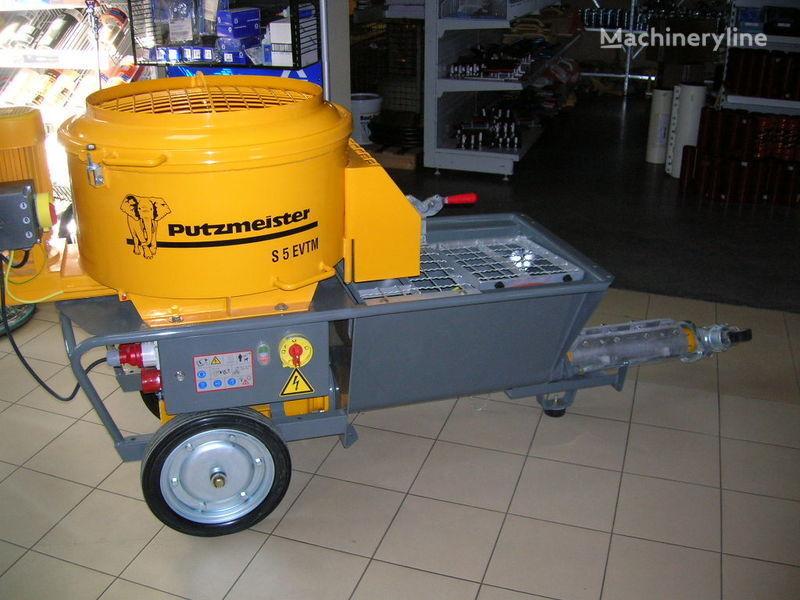 jauns PUTZMEISTER S5 EV/TM stacionārais betona sūknis