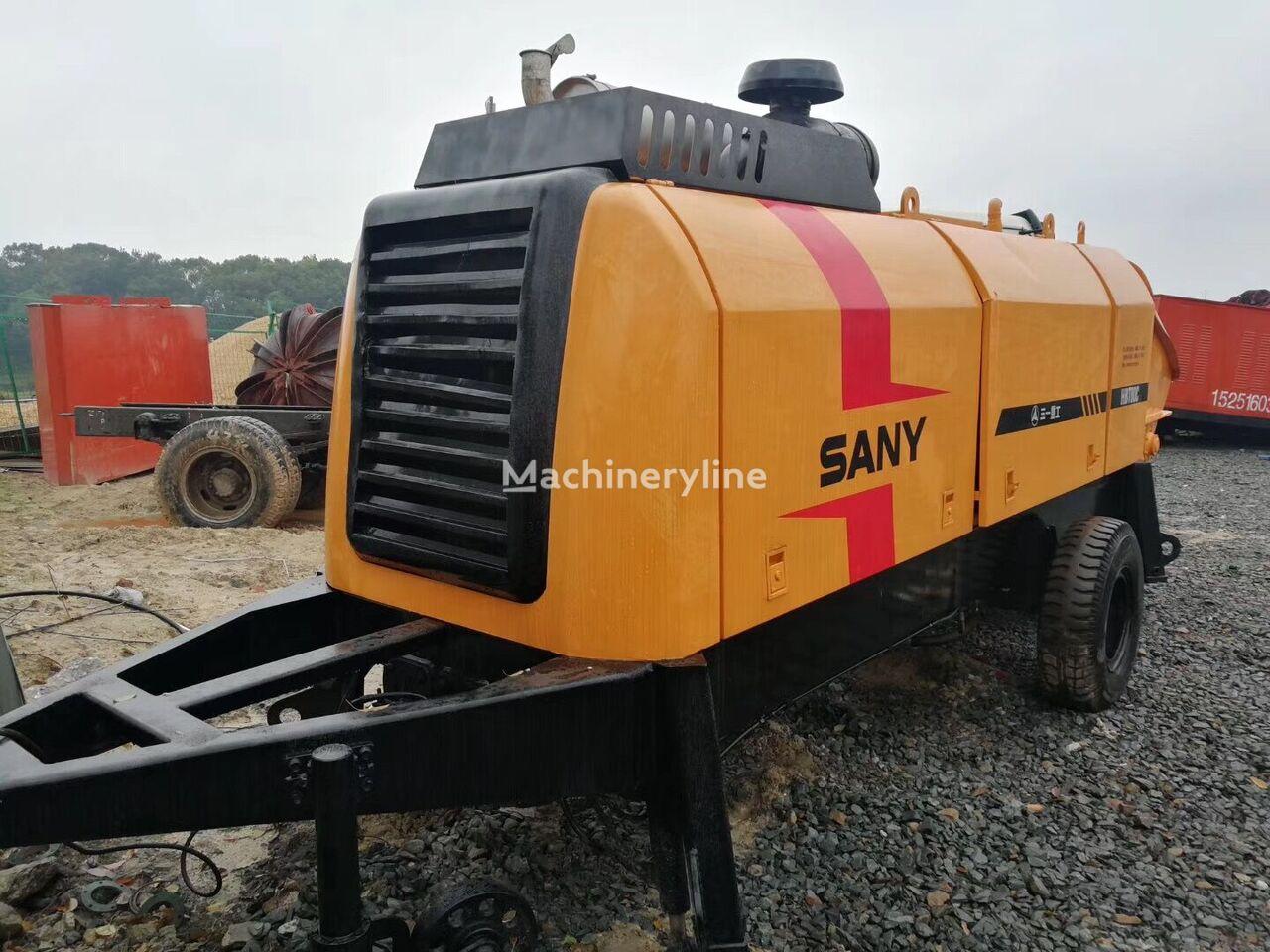 SANY HBT80 stacionārais betona sūknis