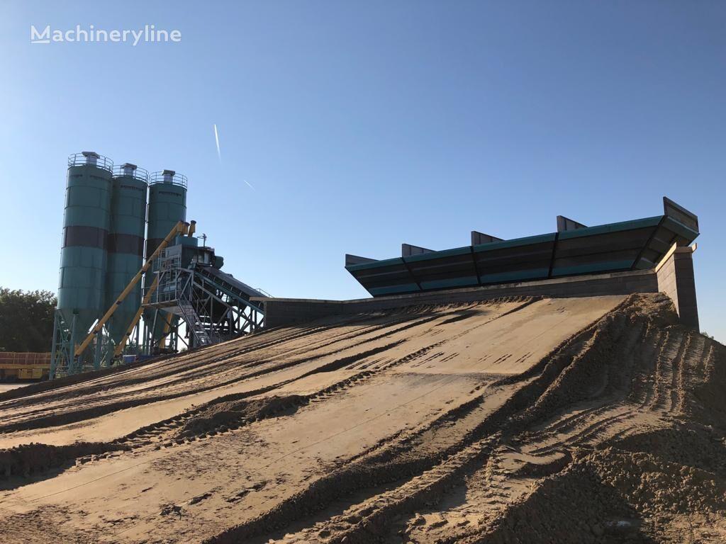 jauns CONSTMACH DELIVERY FROM STOCK! MOBILE CONCRETE PLANT, 120 m3/h CAPACITY betona rūpnīca