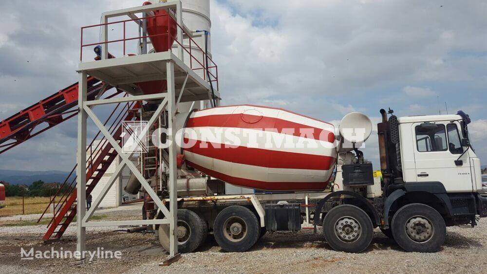 jauns CONSTMACH DRYMIX 60 m3h DRYTYPE CONCRETE PRODUCTION FOR SALE betona rūpnīca