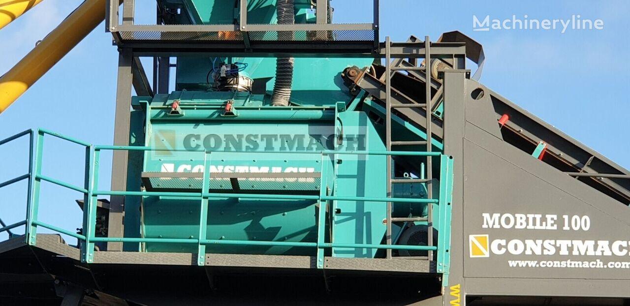 jauns CONSTMACH  TWIN SHAFT MIXER IS READY AT STOCK betona rūpnīca