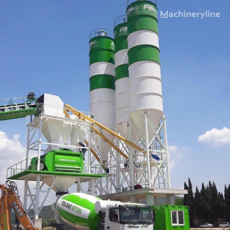 jauns FABO POWERMIX-130 CONCRETE PLANT | NEW GENERATION betona rūpnīca