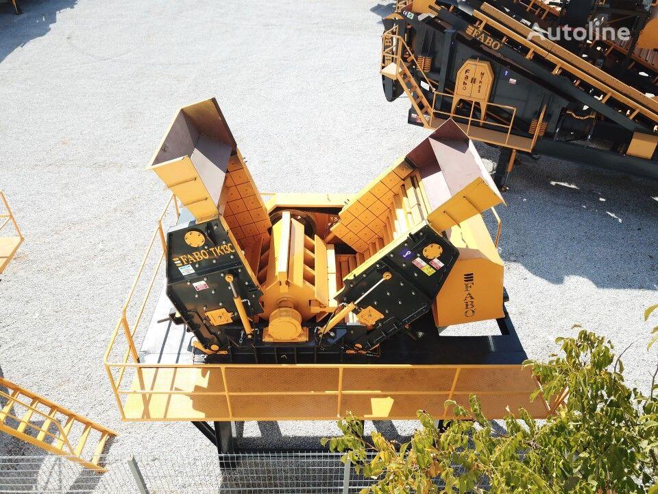 jauns FABO TK-100 TERTIARY IMPACT CRUSHER READY IN STOCK drupināšanas iekārta