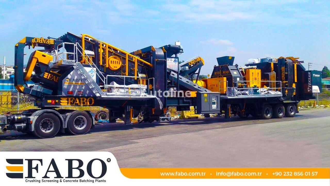 jauna FABO FULLSTAR-60 Crushing, Washing & Screening  Plant mobilā drupināšanas iekārta