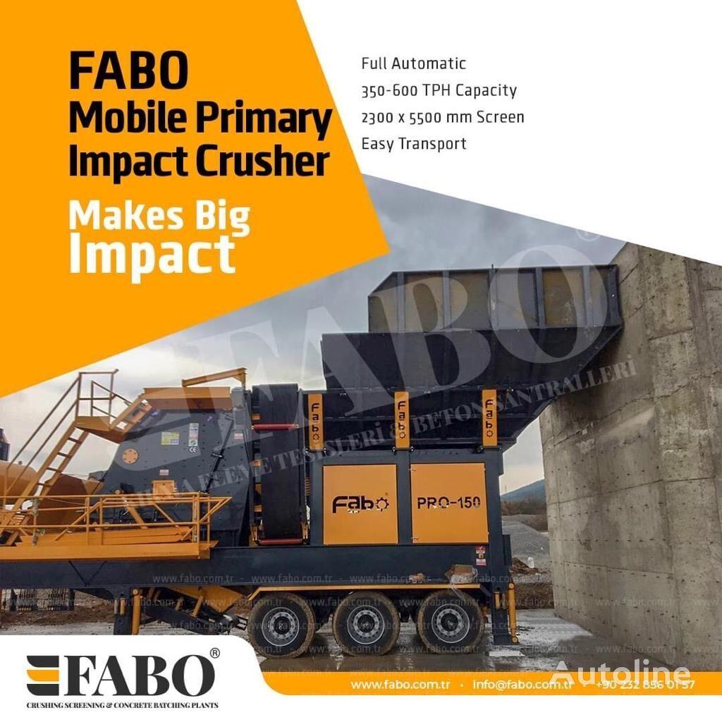 jauna FABO MIC SERIES 400-500 TPH MOBILE CRUSHING & SCREENING PLANT mobilā drupināšanas iekārta