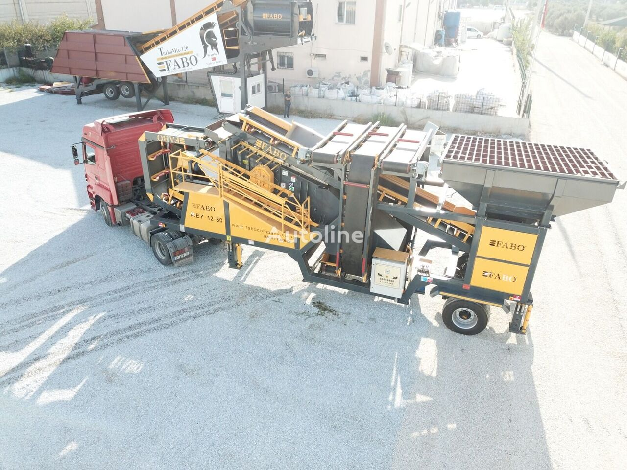 jauns FABO ME 1230 SERIES MOBILE SAND SCREENING PLANT vibrosiets