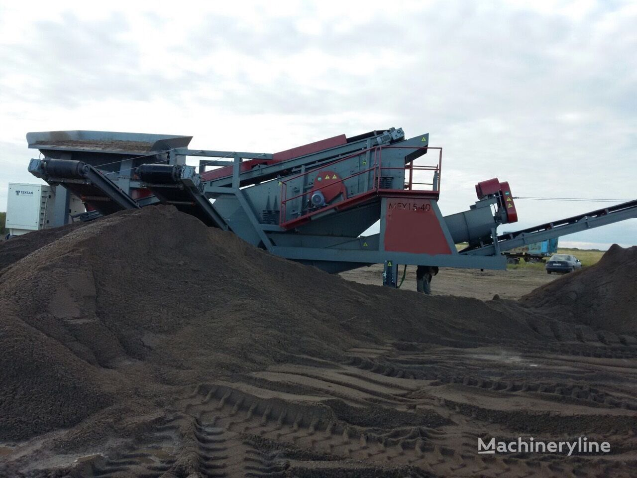 jauns FABO MEY-1645 MOBILE SAND SCREENING & WASHING PLANT vibrosiets