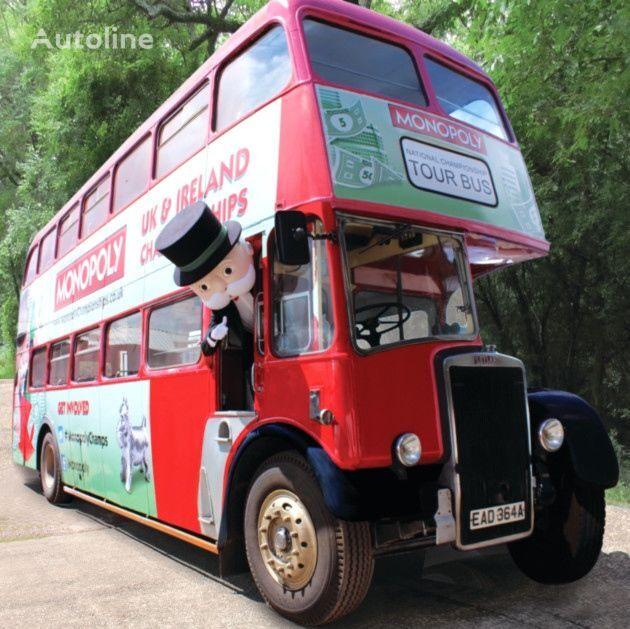 Leyland PD3 British Double Decker Bus Marketing Exhibition Training etc. divstāvu autobuss