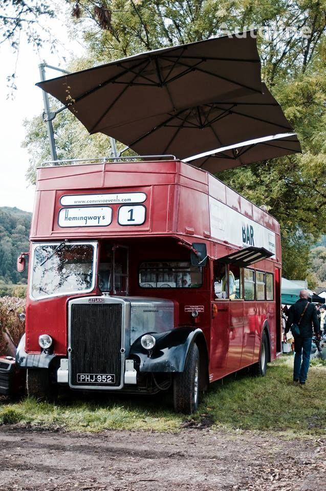 Leyland Titan PD3 - open topper - BAR bus 1958 divstāvu autobuss